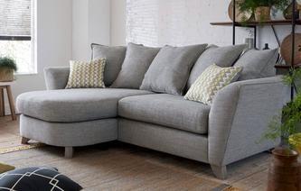 Eliana Pillow Back 4 Seater Lounger Sofa Eliana Fabric Sofa Sofa Styling Sofa Sale