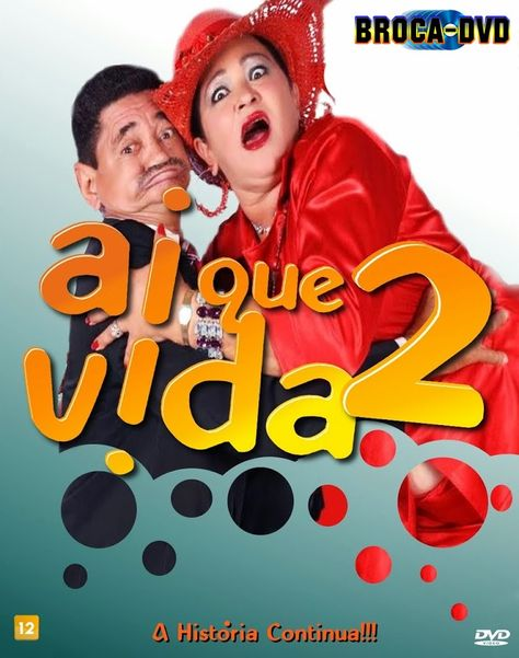 Capa Do Filme Ai Que Vida 2 Com Imagens Filmes
