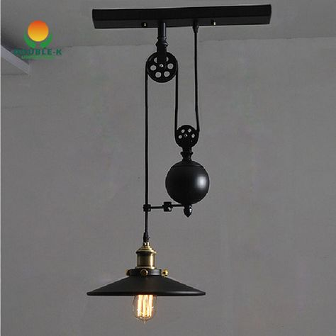 Cheap Light Bulb Lamp Buy Quality Lamp Gu10 Directly From China Light Bulb Shaped Lamp Suppliers Pulley Pendant Light Pendant Lighting Ceiling Pendant Lights