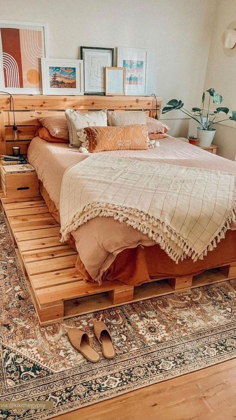 beautiful boho bedroom