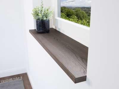 Fensterbank Holz In Mosaik Optik Eiche Mit Original Asten Direkt Online Auf Mass Nach Ihren Wunschen Jetzt On In 2020 Fensterbanke Holz Fensterbank Kaufen Eiche
