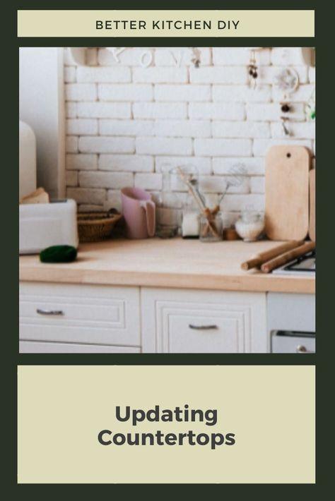 DIY Countertop Updates