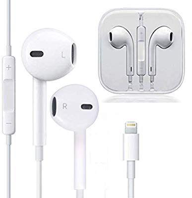 Zestychef Earbuds Microphone Earphones Stereo Headphones Noise Isolating Headset Fit Compatible With Iphone Xs Xr Apple Headphone Headphones Stereo Headphones