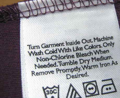 Guía para interpretar bien las etiquetas de tu ropa - InStyle