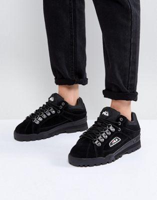 26b4d185704 Fila Trailblazer Trainer In Black | Луки | Sneakers, Shoes, Shoes ...