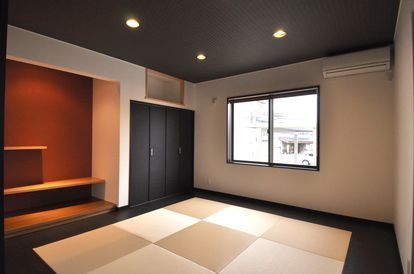 配色がオシャレ 白と黒のモダンな和室インテリアまとめ 和室 家