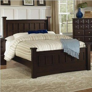 King Size Bed Transitional Style In Cappuccino Finish Box Spring Frames Blu Dot Dodu King Bed By Chaugi Home Decor Furniture Bedroom Sets Furniture Queen