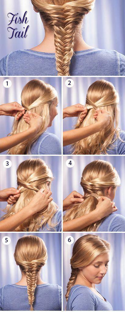 72 Trendy Diy Hairdo Braid Tutorials To Hog The Limelight Fishtailsbraids Braided Bun Hairstyles Fish Tail Braid Hair Styles
