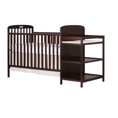 Brody 3 In 1 Convertible Crib And Changer Crib And Changing Table Combo Cribs Convertible Crib