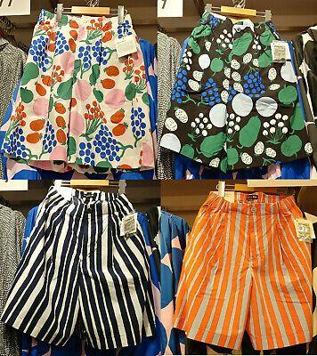 Nwt Uniqlo X Marimekko 2020 Women Cotton Poplin Shorts Pants Cotton Poplin Clothes For Women Pants