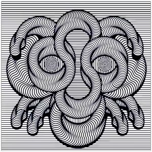 Optical Illusions Op Art Coloring Pages For Adults Op Art Coloring Pages Art