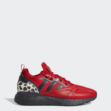 Adidas Jalen Ramsey Zx 2k Boost Shoes Red Adidas Us Boost Shoes Sneakers Men Fashion Red Adidas
