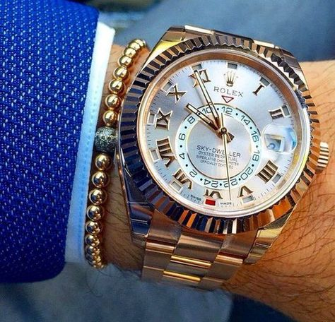 The awesome Rolex Sky-Dweller - What time is it?