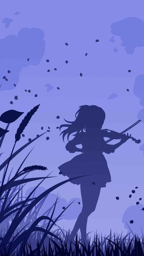 Music Girl iPhone Wallpaper - iPhone Wallpapers