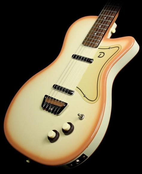 Used Danelectro 56-U2 Electric Guitar Copper Burst
