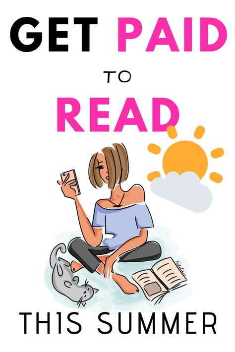Get paid to read this summer: Work from home