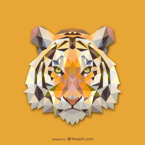 Triangle Tiger Design