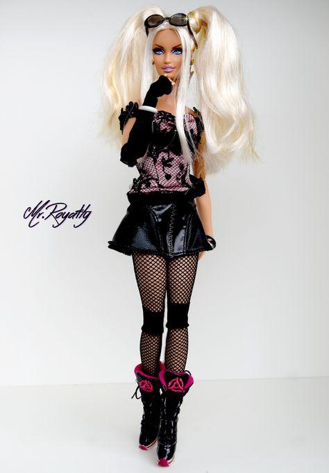 Clear transparent Shoes fit FR2 FR6.0 NU.face 3.0 FR poppy parke body doll black