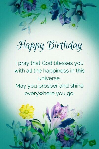 70 New Ideas Birthday Quotes Sister Prayer Greeting Card Happy