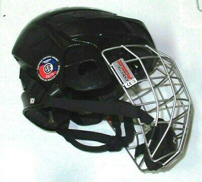 Advertisement Ebay Ccm Fl40 Xs Black Hockey Helmet With Cage Hockey Helmet Helmet Football Helmets