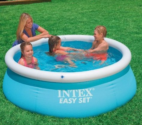 Intex 6 X 20 Easy Set Inflatable Swimming Pool 54402e By Intex Http Www Amazon Com Dp B00a9wx Piscinas Grandes Piscinas Despedida De Soltera Ideas Juegos