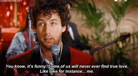Wedding Singer Hilarious Love Stinks Scene At The Movies Pinterest Singers Adam Sandler And Movie