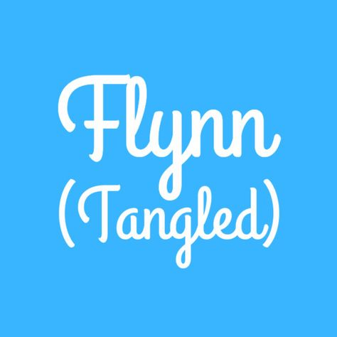 Flynn - Baby Names Inspired By Disney Characters - Photos
