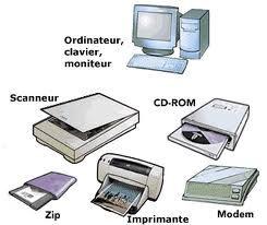 Dibujar 5 Ejemplos De Hardware Buscar Con Google Hardware De Computadora Hardware Informatica