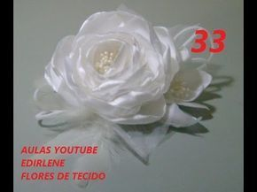 Aula 29 Escolha Do Tecido Para Fazer Flores De Cabelos E Roupas