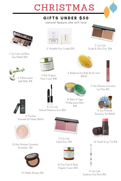 fb4d82c183 In search of great gift ideas for women? Our 2018 Holiday gift guides  provides the best selection of natural beauty gifts for her in all price  brackets.