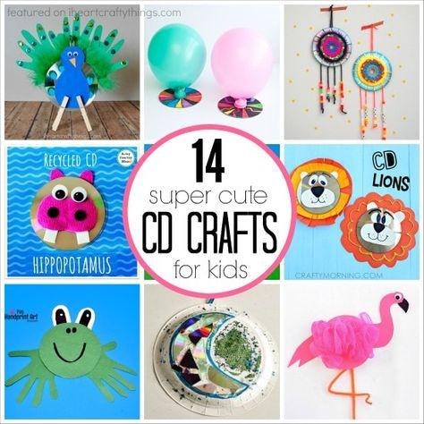 14 Super Cute CD Crafts for Kids