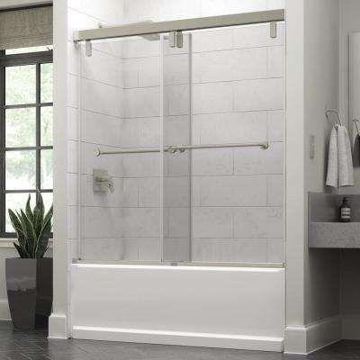 Frameless Bathtub Doors Bathtubs The Home Depot Bathtub