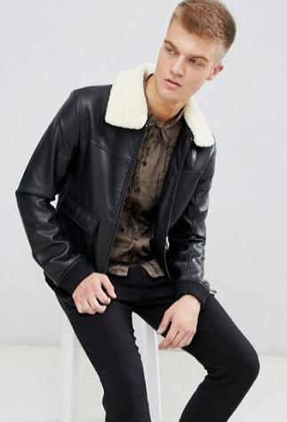 10 Best Men S Vegan Leather Jackets You Ll Wear Forever 2020 Vegan Leather Jacket Black Leather Bomber Jacket Leather Jacket