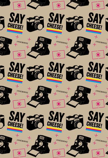 gift wrap - Say Cheese !