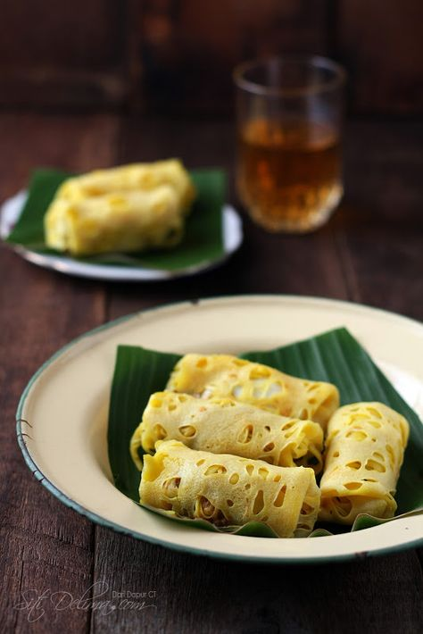 Roti Jala Berinti Kentang Dan Telur Dari Dapur Ct