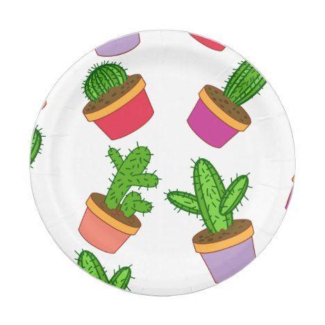 succulent plates succulent plate cactus party decor succulent paper Cactus Paper Plates green paper plates cactus paper plate