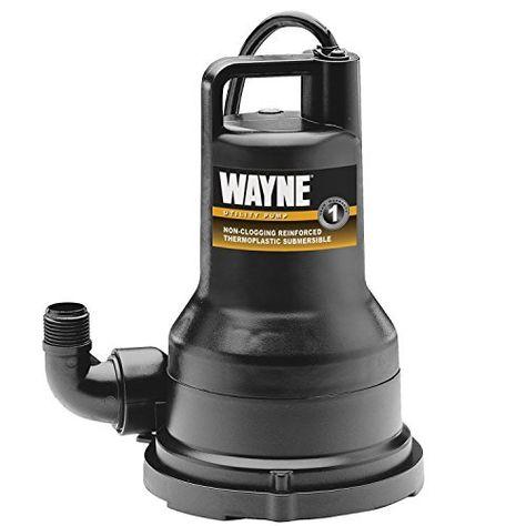 Wayne Vip50 1 2 Hp Thermoplastic Portable Electric Water Removal Pump Portas