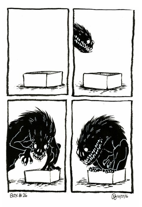 rowanwoodcock: if… – Memes – Humors Cute Comics, Funny Comics, Dark Horse Comics, Dessin Old School, Character Art, Character Design, The Ancient Magus Bride, Mothman, Cryptozoology