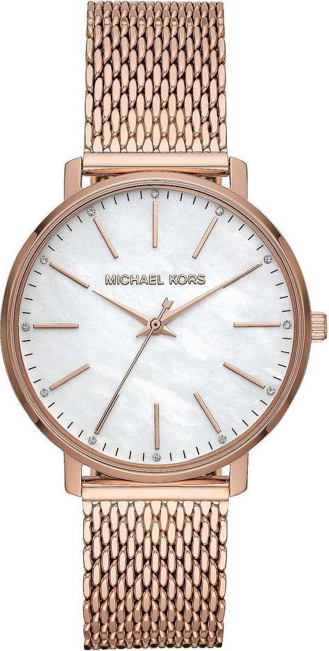 Michael Kors Quarzuhr Pyper Mk4392 Kaufen In 2020 Michael Kors Uhren Damen Mesh Armband Und Quarzuhr