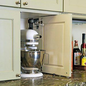 New Kitchen Storage Ideas Kitchen Appliance Storage Appliance Garage Outdoor Kitchen Appliances