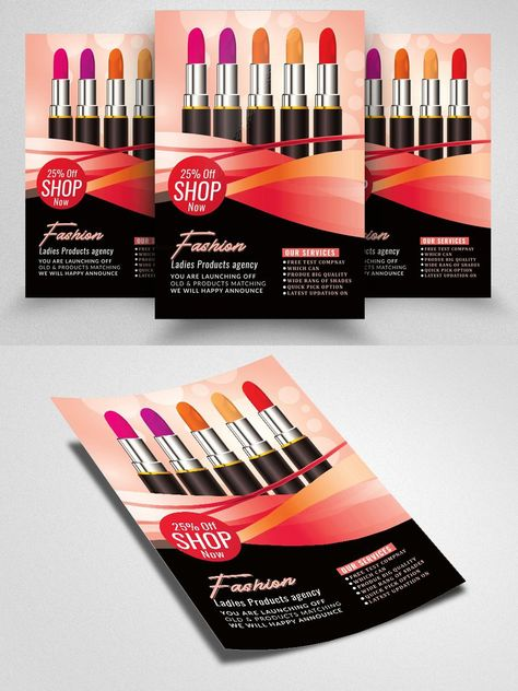 Beauty Make-up / Cosmetic Flyer