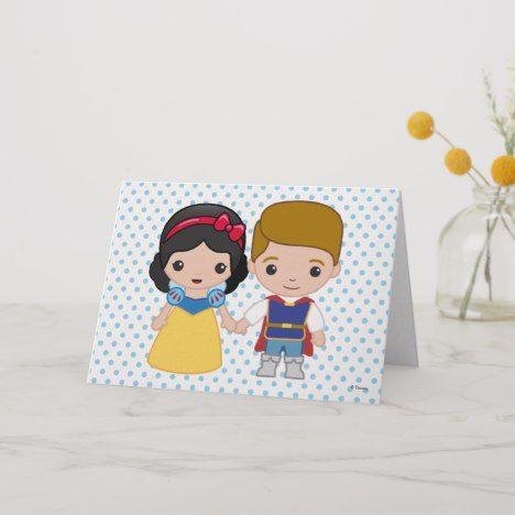 Snow White And Prince Charming Emoji Card Zazzle Com Disney Emoji Emoji Gifts Snow White Disney