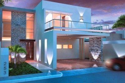Imagenes De Casas Por Dentro Y Por Fuera Hermosos House Front Design House Design House Styles