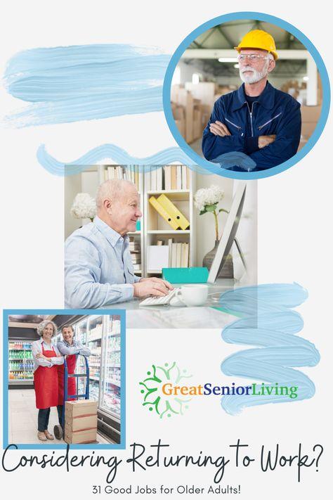 31 Great Jobs For Seniors