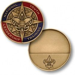 Order of the Arrow Boy Scouts of America All Bronze Challenge Coin