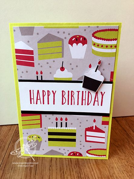 Quick And Easy Birthday Cards Inspiring Inkin Amanda Fowler Shop For Stampin Up Uk Products Simple Birthday Cards Birthday Cards Cards