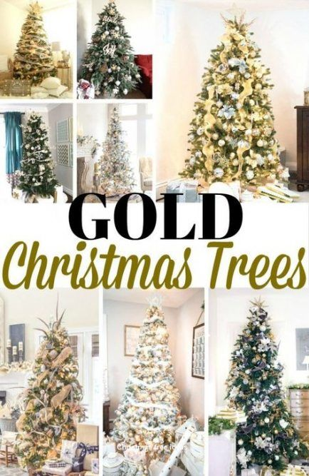 47 Ideas How To Decorate A Christmas Tree With Tinsel Dollar Stores For 2019 Tinsel Christmas Tree Gold Christmas Christmas Tree Decorations