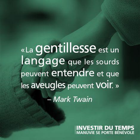 Populaire citation #français #bénévolat #bénévole #gentillesse #bonté  NQ17