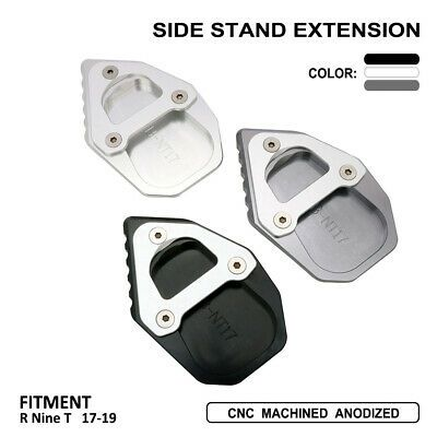 Advertisement Ebay Motorcycle Side Stand Extension Kickstand Plate Pad For Bmw R Nine T 2017 2019 In 2020 Side Stand Kickstand Bmw