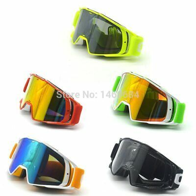 New Goggle Tinted Uv Stripe Motorcycle Goggles Motocross Bike Cross Country Flex In 2020 Motocross Goggles Motorcycle Goggles Motocross Bikes